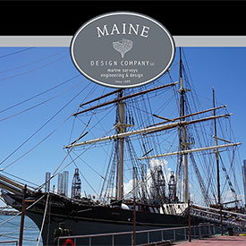 Maine Design Company: Boat surveys, marine inspections, consulting services